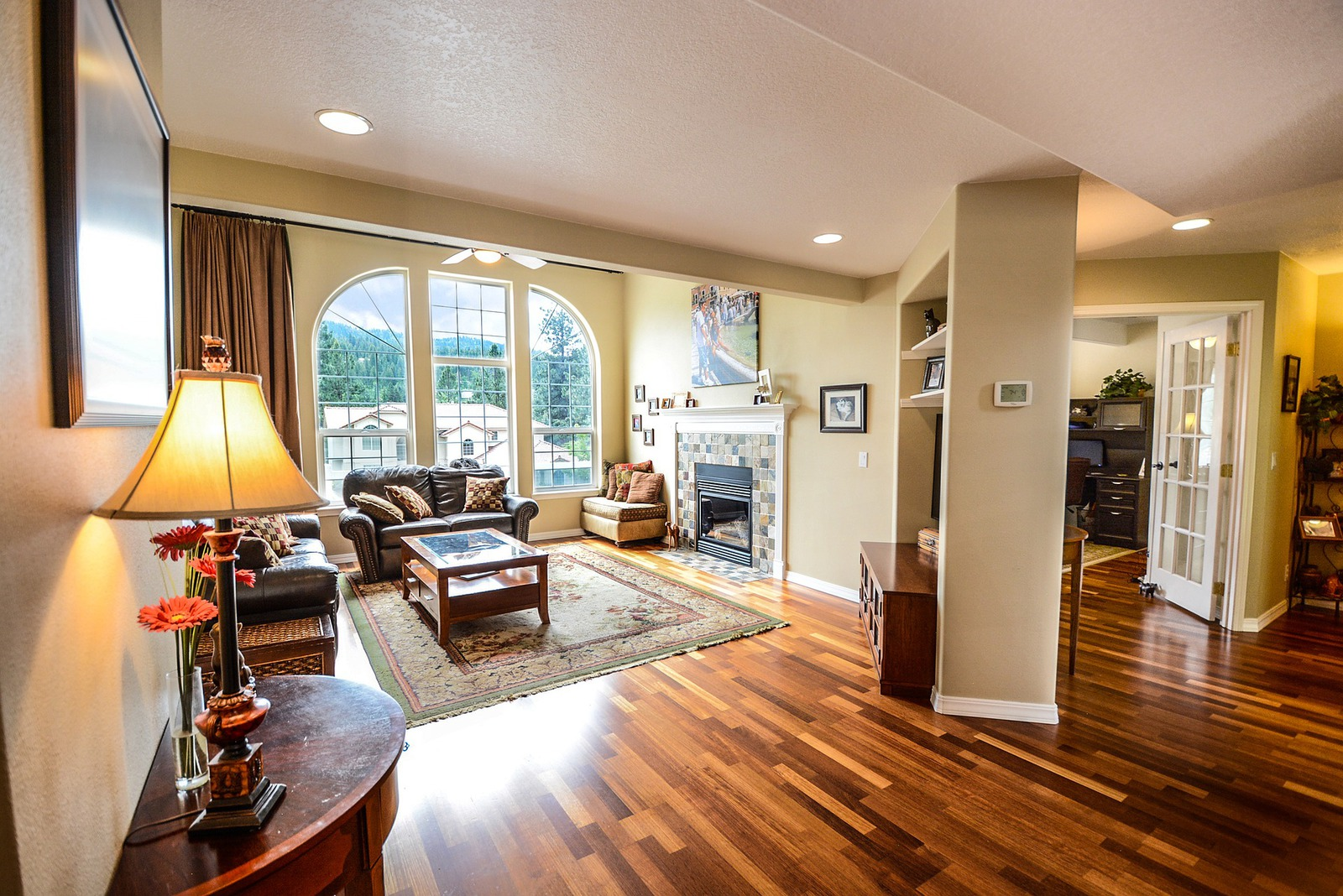 New Upscale Family Room Addition In Great Falls, VA