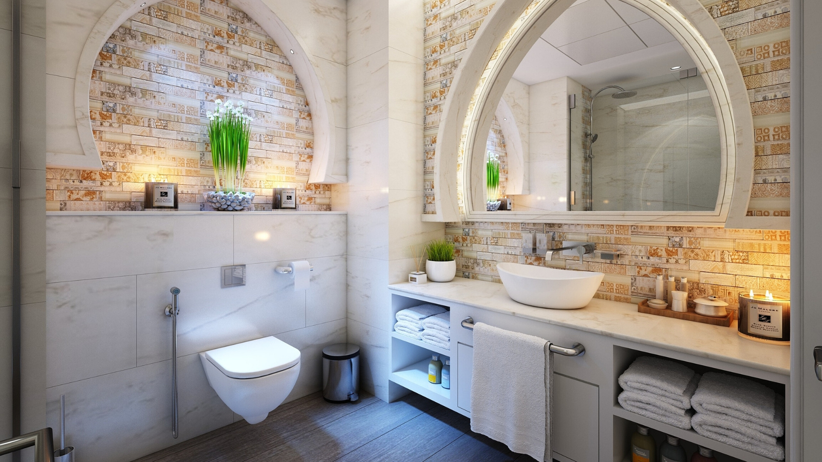 foley homes luxury bathroom